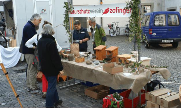 """Thema """"Amphibienlaichzug"""" am Stauden- und Sträuchermarkt 2016"""